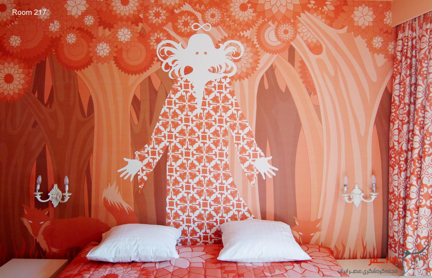 61 اتاق، 61 اثر هنری